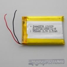 Аккумулятор навигатора 53мм*39мм*4мм 950mAh
