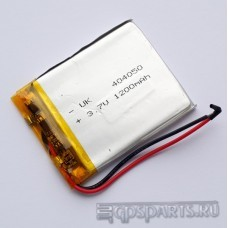 Аккумулятор навигатора 50мм*40мм*3мм 1200mAh