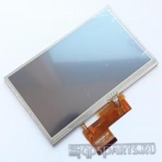 Дисплей 5 дюймов - 480x272 пикс - AT050TN34 - для навигаторов - с тачскрином