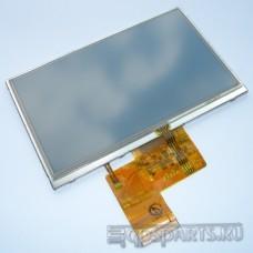 Дисплей 5 дюймов - 480x272 пикс - для GPS навигаторов и автомагнитол - с тачскрином