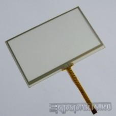 "Сенсорное стекло (тачскрин) 4,3"" дюйма (103мм x 65мм, автомагнитолы и навигаторов) N1"