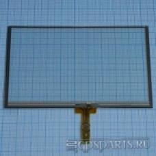 "Сенсорное стекло (тачскрин) 4,3"" дюйма (104мм x 64мм, автомагнитолы и навигаторов) N16"