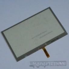 "Сенсорное стекло (тачскрин) 4,3"" дюйма (105мм x 66мм, автомагнитолы и навигаторов) N19"