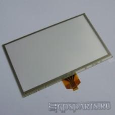 "Сенсорное стекло (тачскрин) 4,3"" дюйма (105мм x 65мм, автомагнитолы и навигаторов) N3"