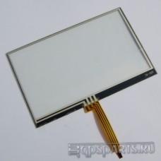 "Сенсорное стекло (тачскрин) 4,3"" дюйма (104мм x 66мм, автомагнитолы и навигаторов) N2"