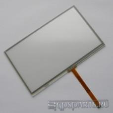 "Сенсорное стекло (тачскрин) 5"" (117мм x 70мм, шлейф под разъем, автомагнитолы и GPS) N4"
