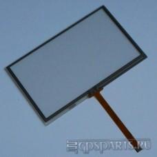 "Сенсорное стекло (тачскрин) 4,3"" дюйма (103мм x 63мм, автомагнитолы и навигаторов) N18"