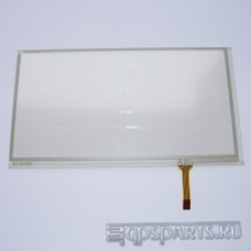"""Сенсорное стекло (тачскрин) 7"""" дюймов (166мм x 92мм, для автомагнитолы и навигатора)"""