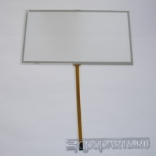 Сенсорное стекло (тачскрин) 7 дюймов (166мм x 91мм, для автомагнитолы и GPS) N155