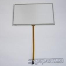"""Сенсорное стекло (тачскрин) 5,8"""" (138мм x 80мм, для автомагнитолы и GPS) N156"""