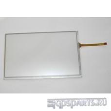 """Сенсорное стекло (тачскрин) 7"""" дюймов (164мм x 102мм, для автомагнитолы и навигатора) N6"""