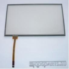 """Сенсорное стекло (тачскрин) 7"""" дюймов (161мм x 96мм, для автомагнитолы и навигатора) N41"""