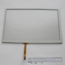 """Сенсорное стекло (тачскрин) 7"""" дюймов (164мм x 103мм, для автомагнитолы и навигатора) N42"""