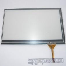 """Сенсорное стекло (тачскрин) 7"""" дюймов (162мм x 102мм, для автомагнитолы и навигатора) N44"""