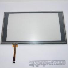 """Сенсорное стекло (тачскрин) 7.5"""" дюймов (186мм x 103мм, для автомагнитолы и навигатора) N46"""