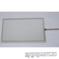 Сенсорное стекло (тачскрин) 8 дюймов (192мм x 116мм, для автомагнитолы и навигатора) шлейф сбоку N12