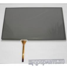 """Сенсорное стекло (тачскрин) 9"""" дюймов (211мм x 126мм, для автомагнитолы и навигатора) N33"""