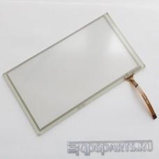 """Сенсорное стекло (тачскрин) 6 - 6,5"""" (155мм x 88мм, для автомагнитол и навигаторов) N21"""