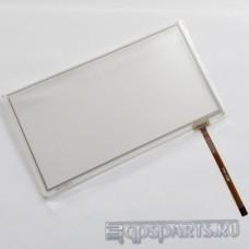 """Сенсорное стекло (тачскрин) 7"""" дюймов (163мм x 90мм, для автомагнитолы и навигатора) N50"""