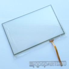 """Сенсорное стекло (тачскрин) 7"""" дюймов (164мм x 103мм, для автомагнитолы и навигатора) N51"""