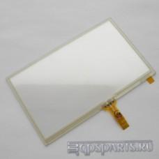 "Сенсорное стекло (тачскрин) 4,3"" дюйма (104мм x 64мм, автомагнитолы и навигаторов) N20"