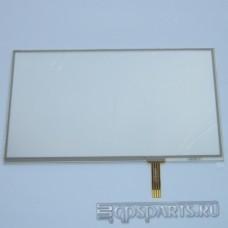 """Сенсорное стекло (тачскрин) 6 - 6,5"""" (141,5мм x 82мм, для автомагнитол и навигаторов) N2"""