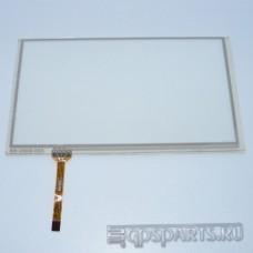 Тачскрин (сенсор) для автомагнитолы Phantom DVM-8400G i5 Silver - сенсорное стекло